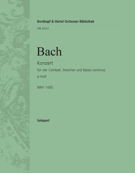 Cembalokonzert a-moll BWV 1065