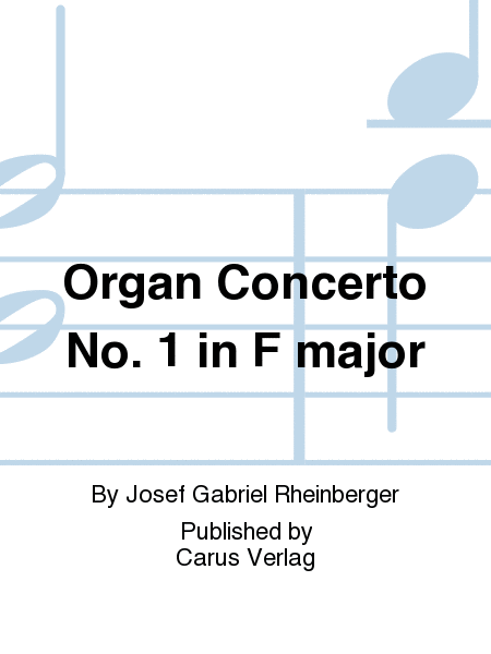 Organ Concerto No. 1 in F major