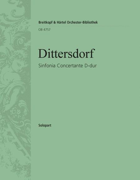 Sinfonia Concertante D-dur