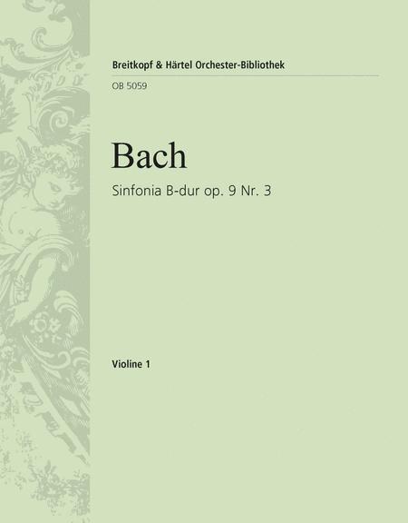 Sinfonia B-dur op. 9/3