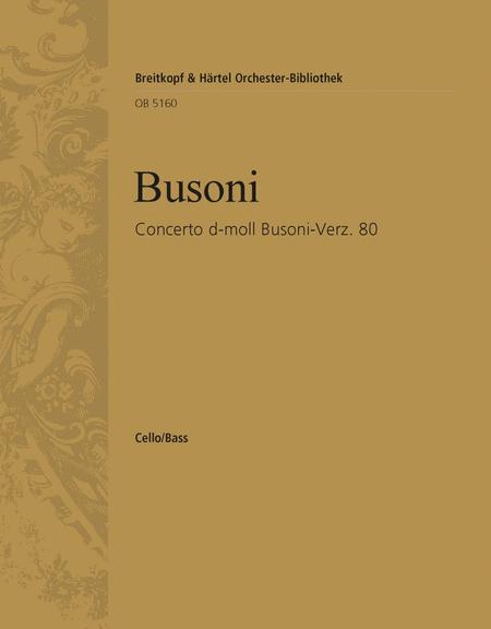 Concerto d-moll Busoni-Ver. 80
