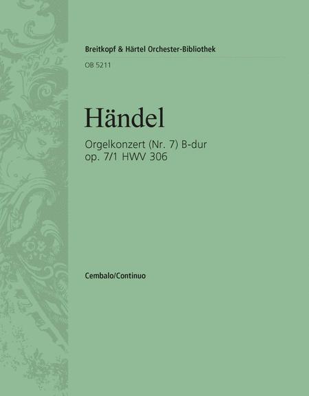 Orgelkonzert B-dur op.7/1 HWV306