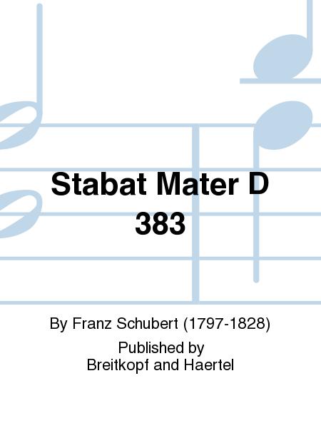 Stabat Mater D 383