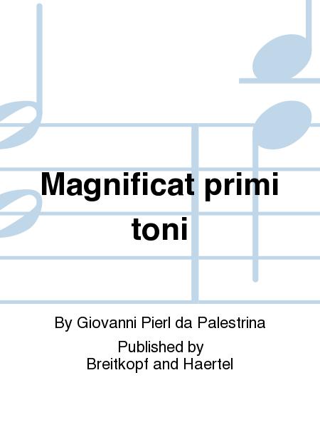Magnificat primi toni