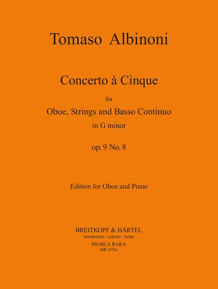 Concerto a 5 in g op. 9/8