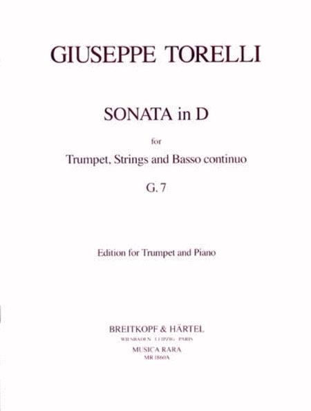 Sonata in D G 7