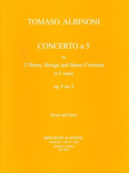 Concerto a 5 in C op. 9/9