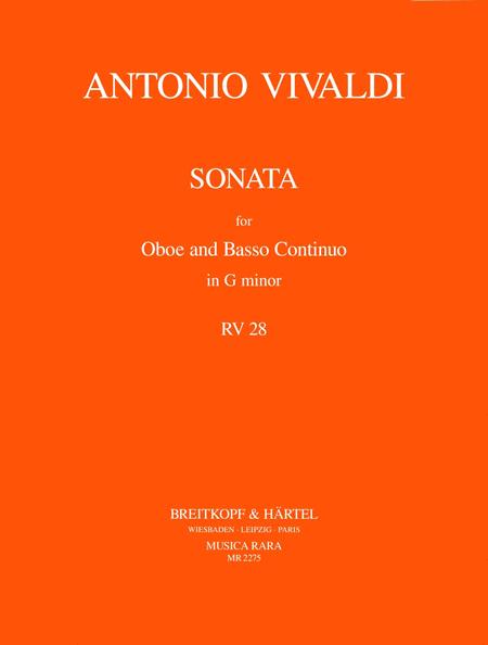 Sonate g-moll RV 28