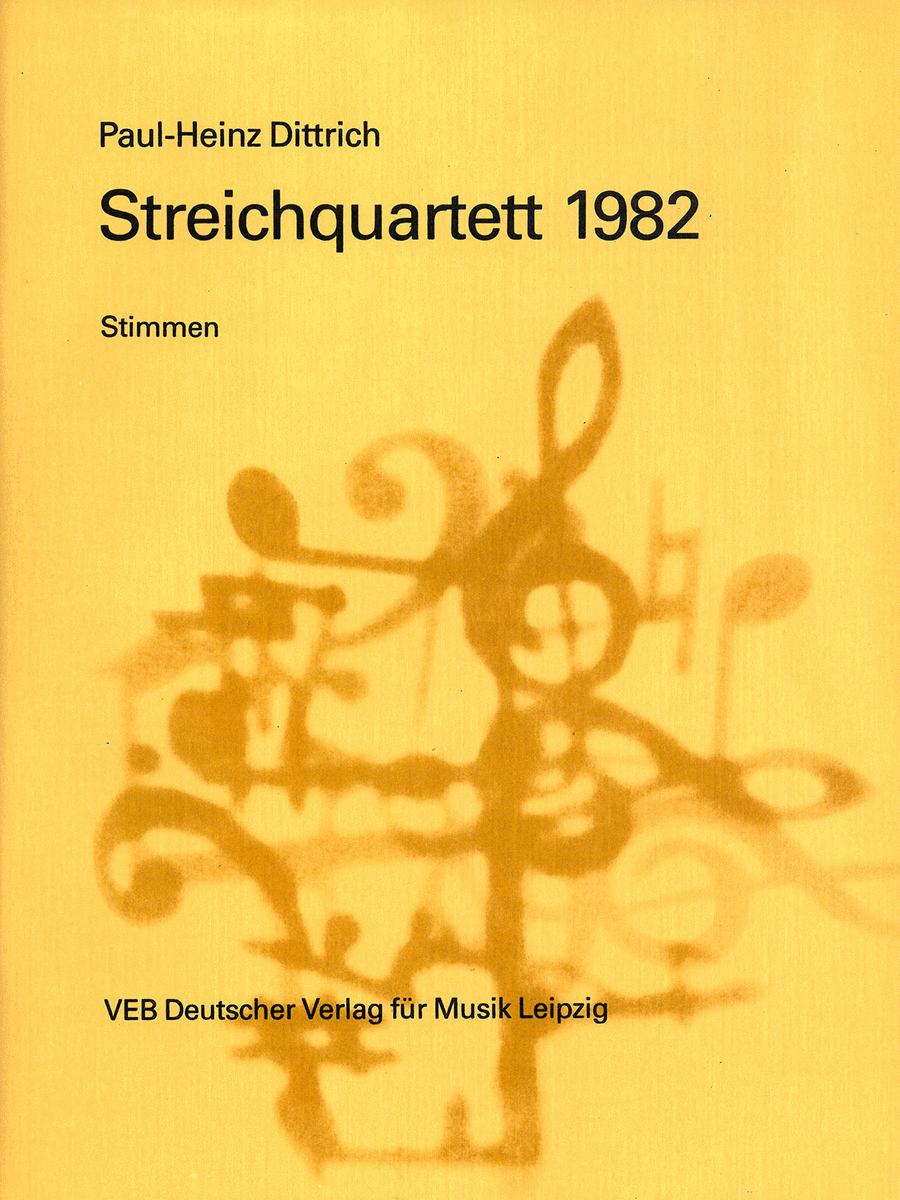 Streichquartett 1982
