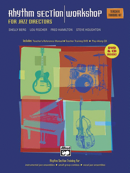 Rhythm Section Workshop for Jazz Directors - Teacher's Training Kit (Book, CD and DVD)