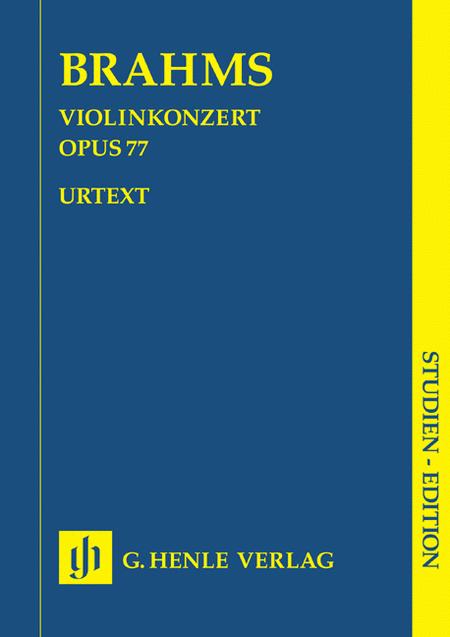 Violin Concerto Op. 77