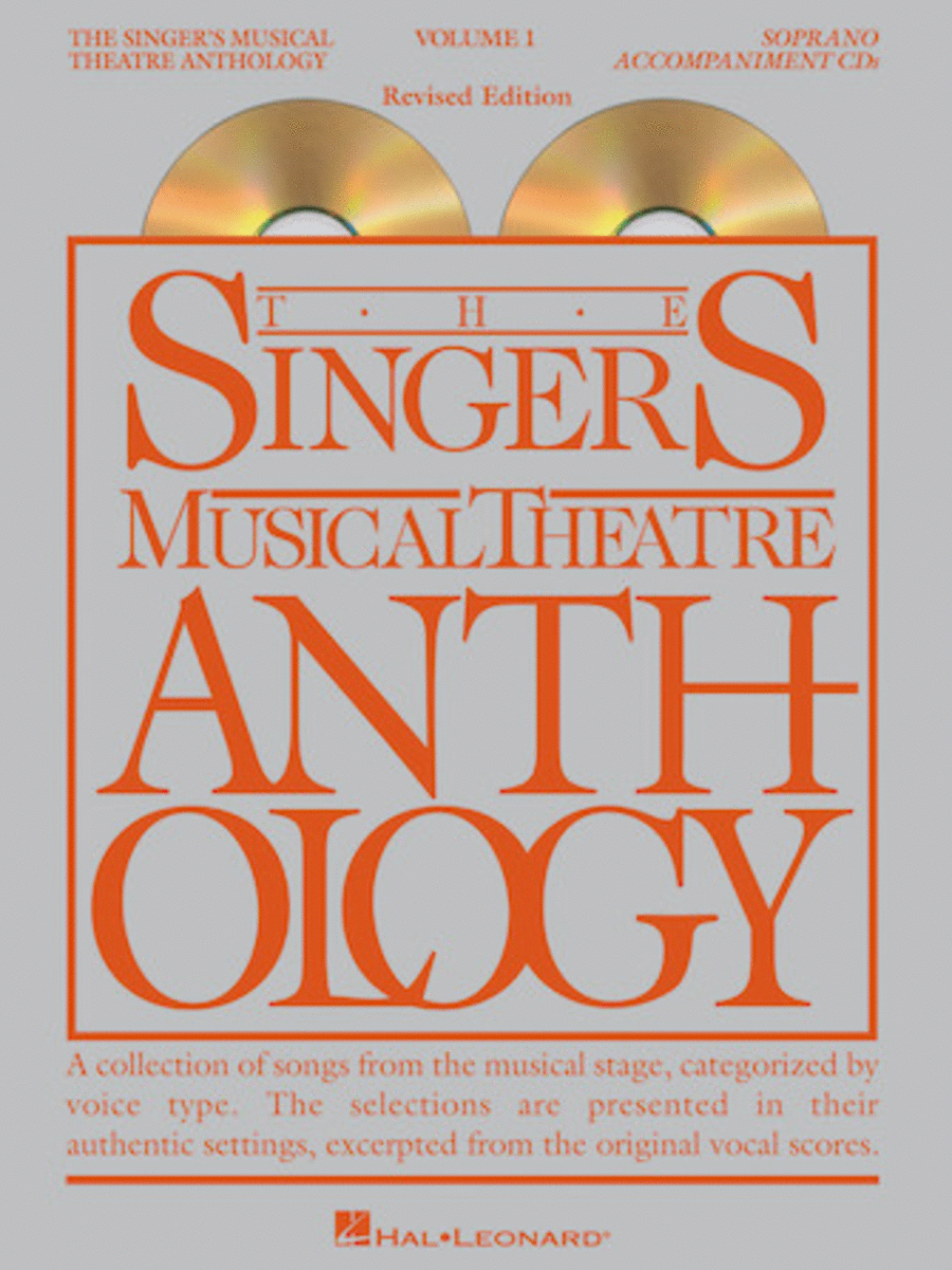The Singer's Musical Theatre Anthology - Volume 1 - Soprano (CD only)