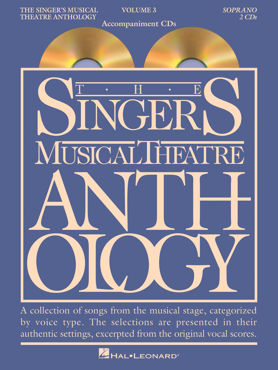 The Singer's Musical Theatre Anthology - Volume 3 - Soprano (CD only)