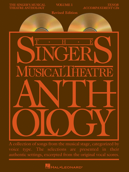 The Singer's Musical Theatre Anthology - Volume 1, Revised - Tenor (CD only)
