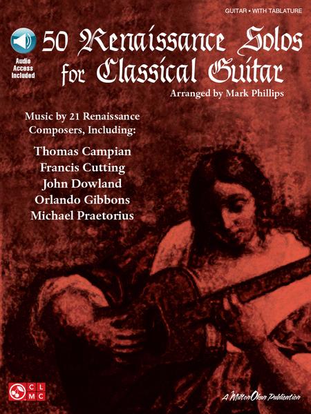 50 Renaissance Solos for Classical Guitar