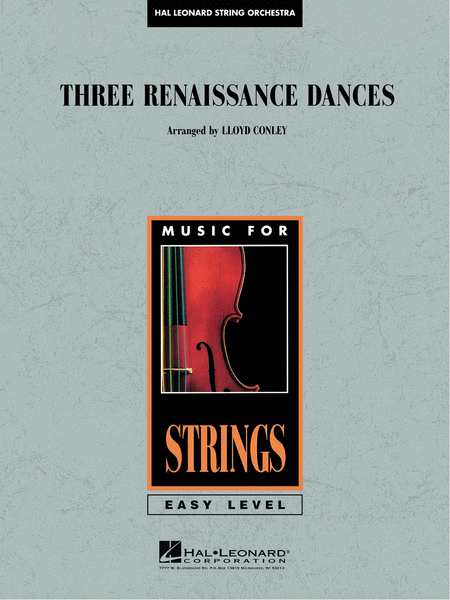 Three Renaissance Dances