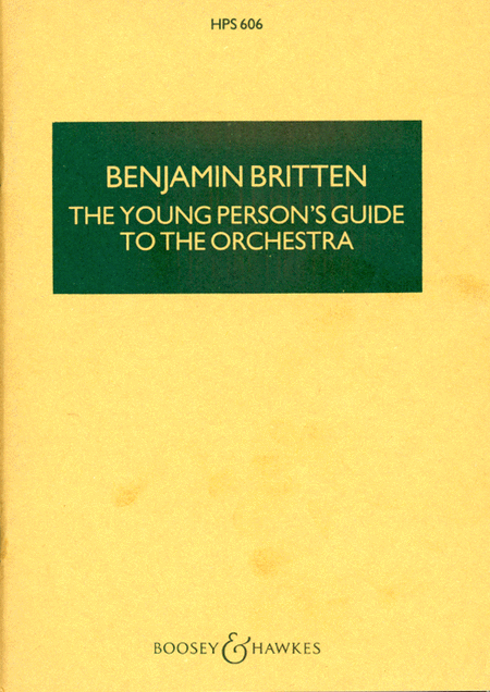 The Young Person's Guide to the Orchestra, Op. 34