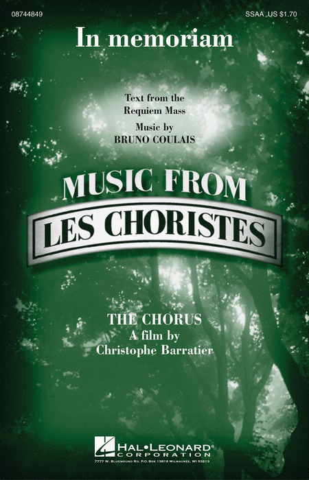In memoriam from Les Choristes