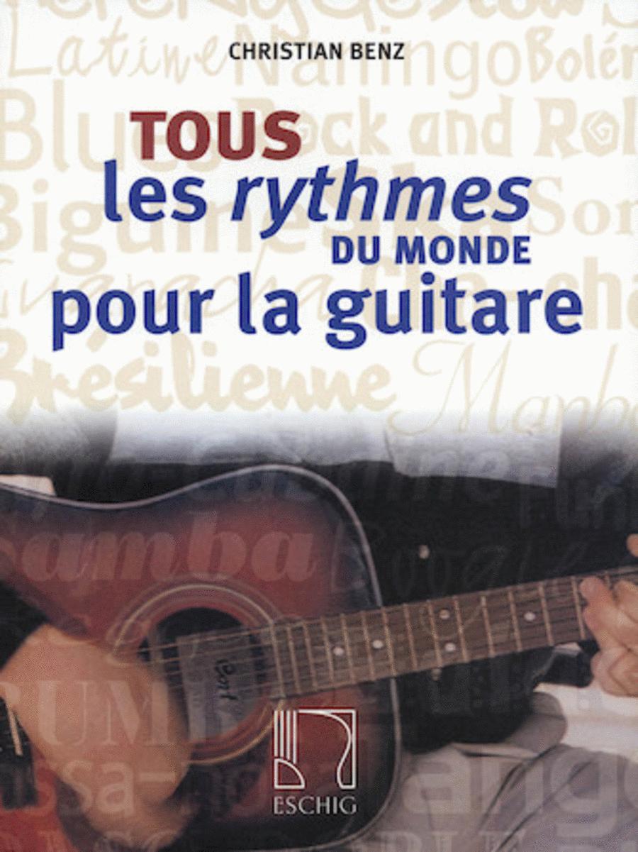 Tous les rythmes du monde pour la guitare