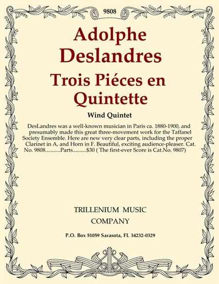 Trois Pieces en Quintette