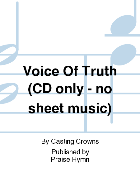 Voice Of Truth (CD only - no sheet music)