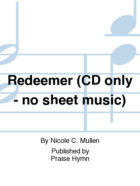 Redeemer (CD only - no sheet music)