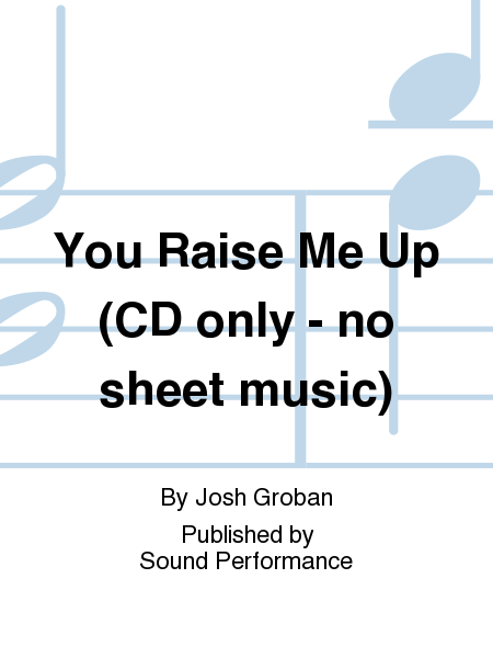 josh groban you raise me up sheet music pdf