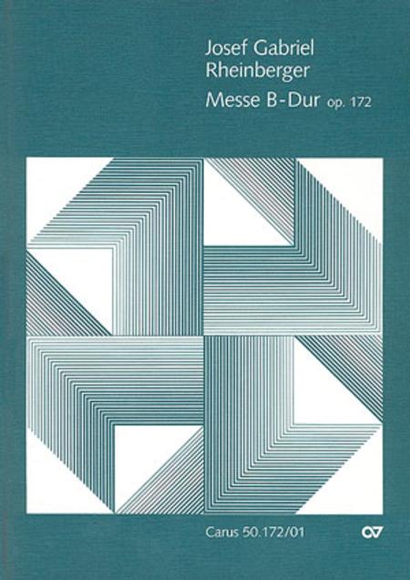 Mass in B flat major