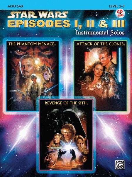 Star Wars - Episodes I, II & III (Alto Sax)