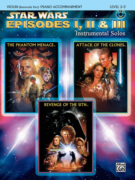 Star Wars - Episodes I, II & III (Violin/Piano)