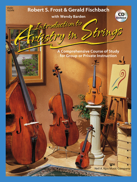 Introduction To Artistry In Strings, Violin (Book & CD)