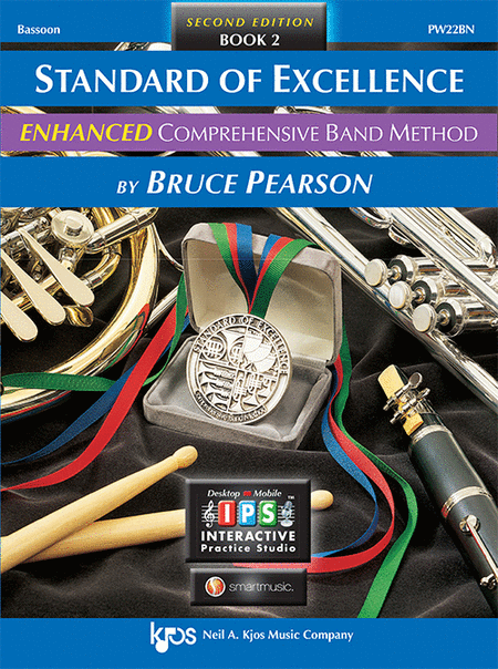 Standard of Excellence Enhanced Book 2, Bassoon