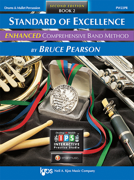Standard of Excellence Enhanced Book 2, Drums & Mallet Percussion
