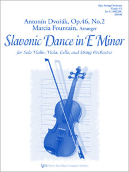 Slavonic Dance in E Minor