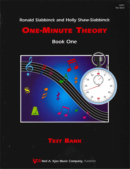 One-Minute Theory - Test Bank