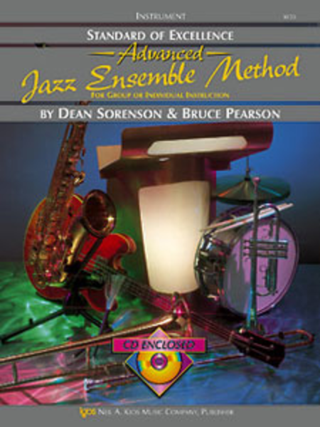 Standard of Excellence Advanced Jazz Ensemble Book 2, Vibes & Auxiliary Percussion