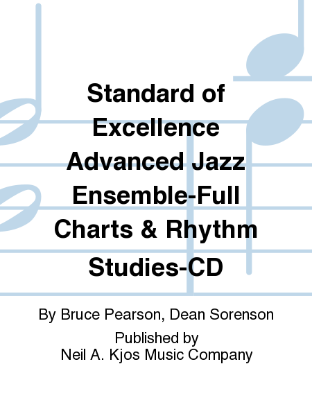 Standard of Excellence Advanced Jazz Ensemble-Full Charts & Rhythm Studies-CD