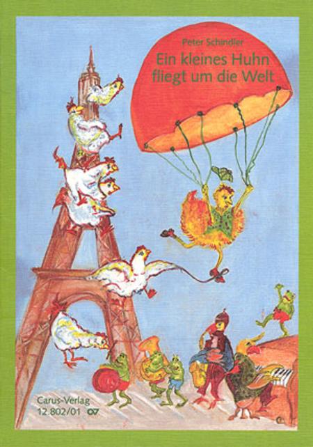 Ein kleines Huhn fliegt um die Welt