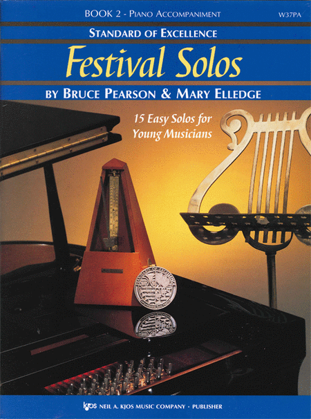 Standard of Excellence: Festival Solos Book 2 - Piano Accompaniment