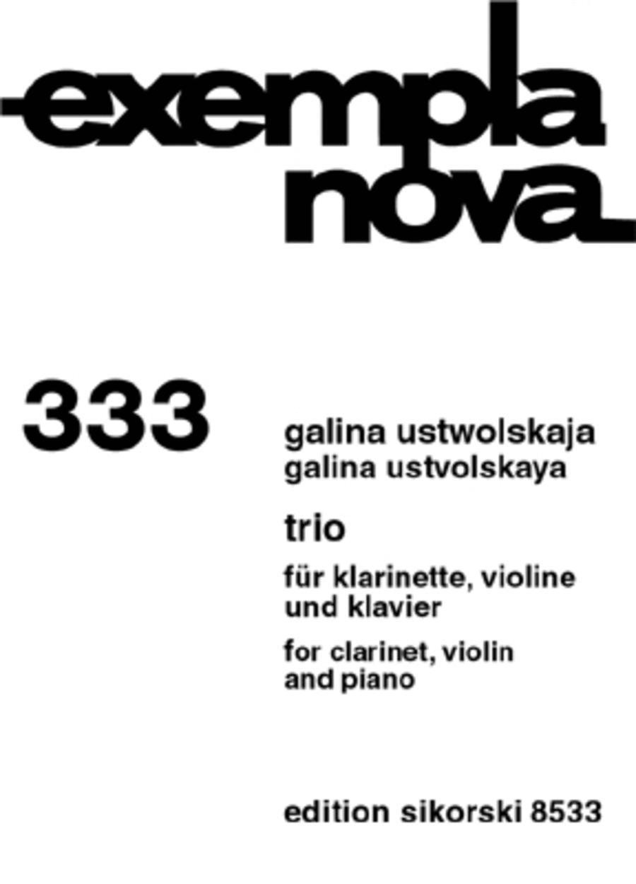 Trio for Clarinet, Violin, and Piano