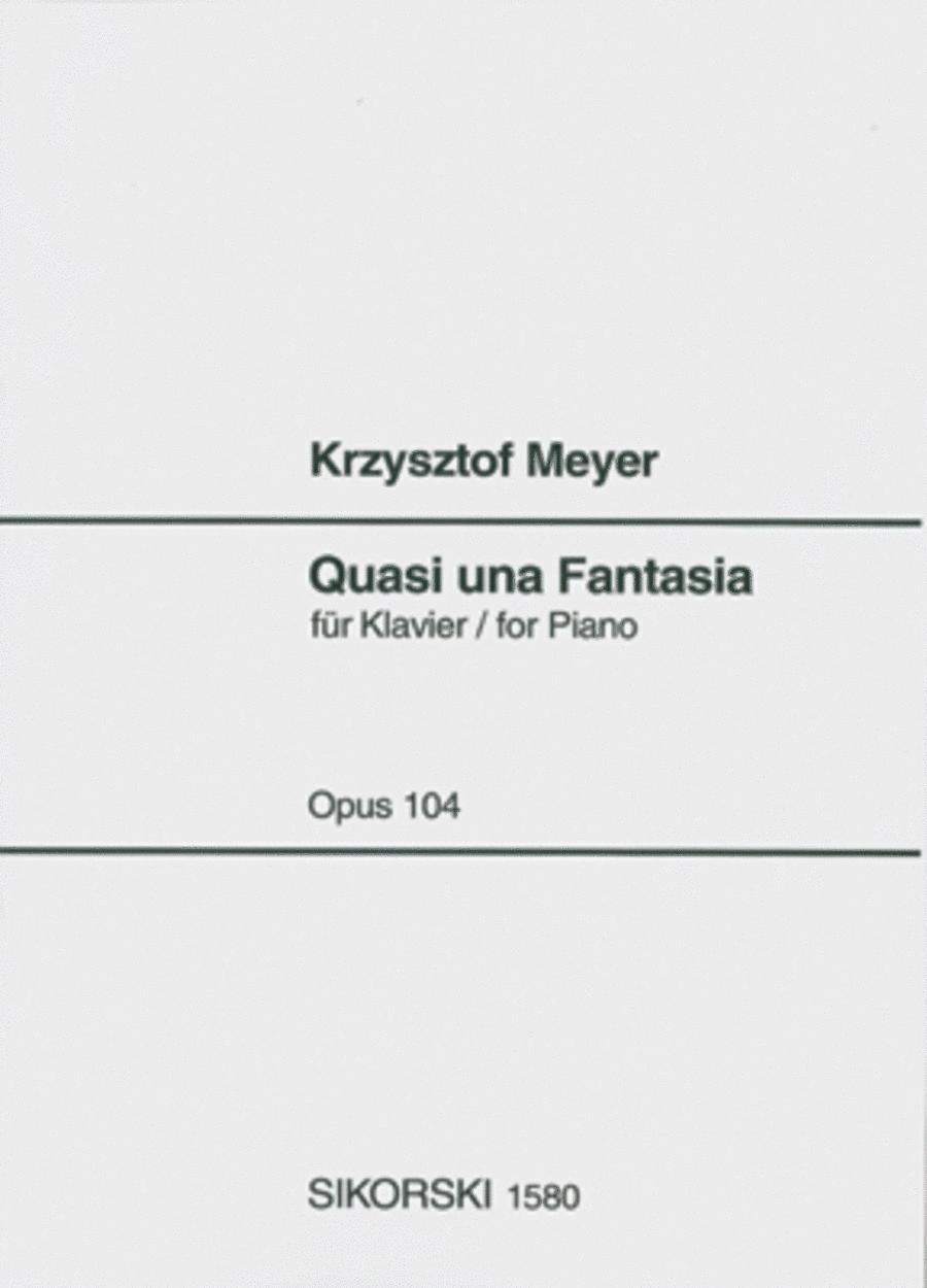Quasi Una Fantasia, Op. 104