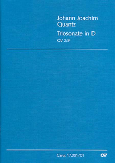 Trio Sonata in D major (Triosonate in D)