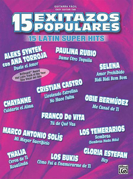 15 Exitazos Populares - Easy Guitar