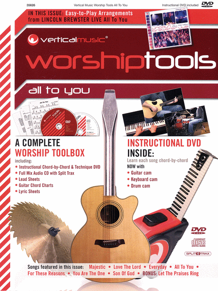 Vertical Music Worship Tools All To You Sheet Music By