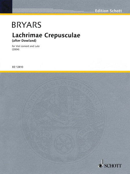 Lachrimae Crepusculae (after Dowland) (2004)