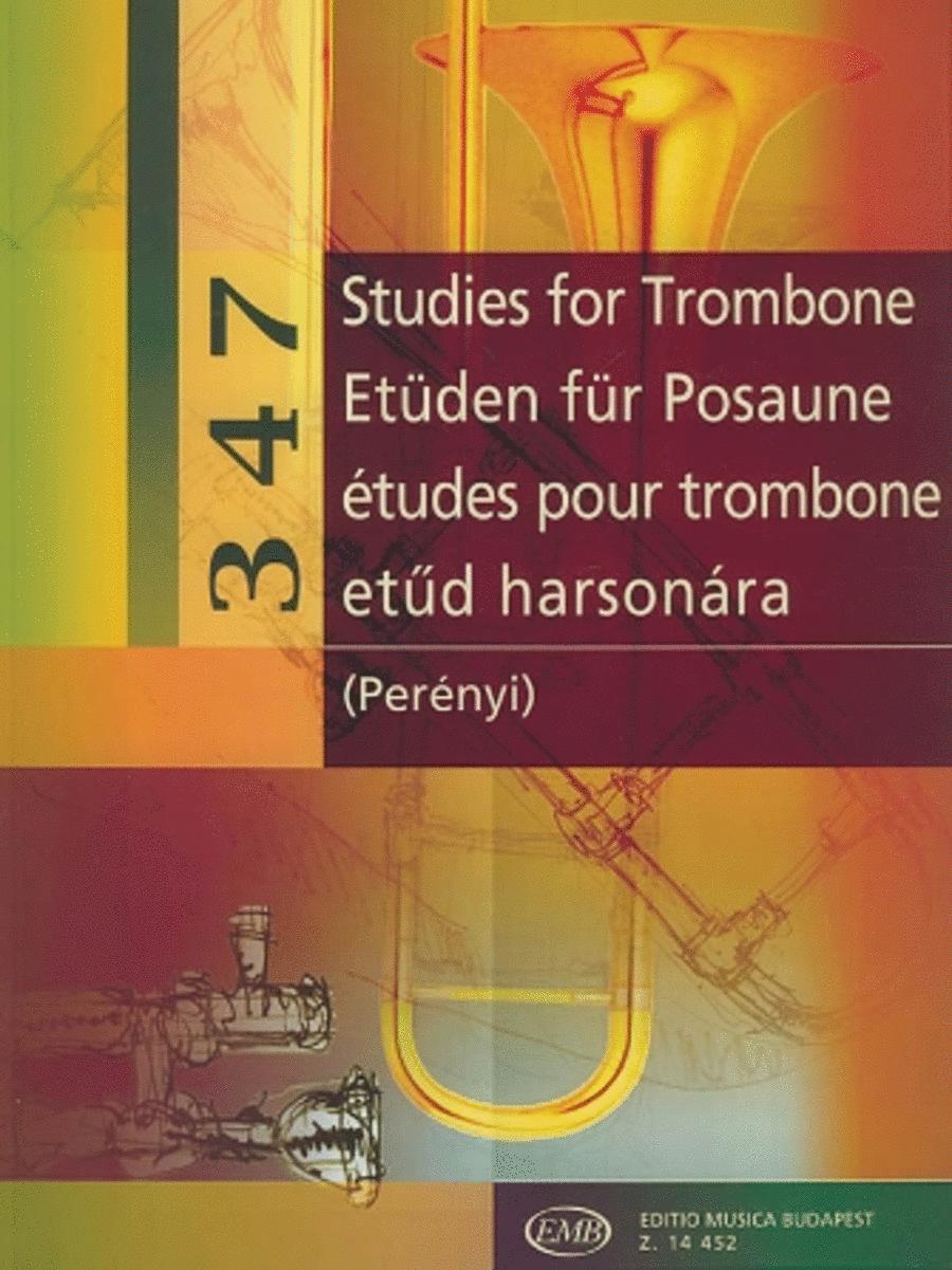 347 Studies for Trombone