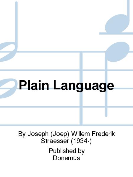 Plain Language