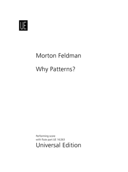 Why Patterns?