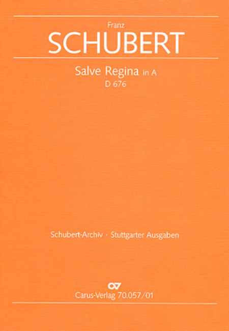 Salve Regina in A major