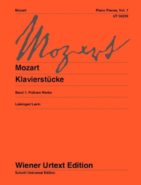 Piano Pieces - Volume 1